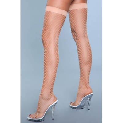 Catch Me If You Can Visnetkousen - Nude One Size (S-L 34 - 40)